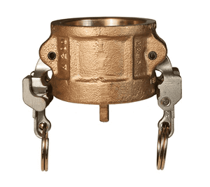 "BH100EZ Dixon 1"" Brass EZ Boss-Lock Type H Dust Cap"