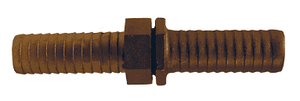 "BLS406 Dixon Long Shank Complete Coupling - 1/2"" Hose ID x 3/4"" NPSM Thread - Brass"