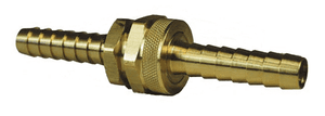 "BLS407 Dixon Long Shank Complete Coupling - 1/2"" Hose ID x 3/4"" GHT Thread - Brass"