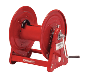 "C32112M Dixon Reelcraft 30,000 Manual Driven Hose Reel - 1/2"" Hose ID - 200ft Hose Capacity - 12"" Spool Width"