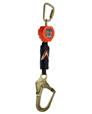 C7104 Malta Dynamics 6' Pygmy Hog® Web Self-Retracting Lifeline with Rebar Hook