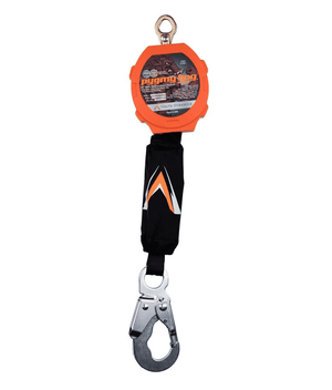 C7201 Malta Dynamics 11' Pygmy Hog® Web Self-Retracting Lifeline with Steel Snap Hook