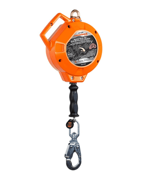 C8000 Malta Dynamics 20' Razorback™ Heavy Duty Cable Self-Retracting Lifeline - Metal - Class B