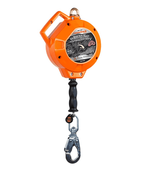 C8001 Malta Dynamics 30' Razorback™ Heavy Duty Cable Self-Retracting Lifeline - Metal - Class B