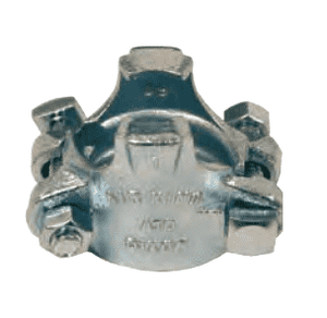A4 Dixon Air King Clamp - Plated Iron - 1/2""