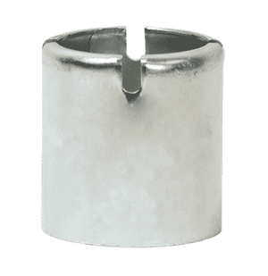 "CF100-3SS Dixon 1"" 304 Stainless Steel Crimp Style Ferrules - Hose OD from 1-21/64"" to 1-24/64"""