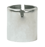"CF100-4SS Dixon 1"" 304 Stainless Steel Crimp Style Ferrules - Hose OD from 1-25/64"" to 1-28/64"""