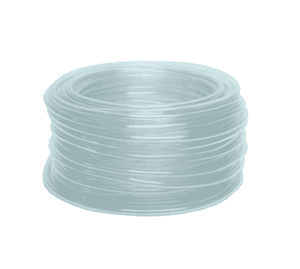 "ICL2432 Dixon Clear PVC Tubing - Imported - 1-1/2"" ID, 2"" OD - 50ft Length"