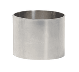 "CS100-10SS Dixon 1"" 304 Stainless Steel Crimp Style Sleeve - Hose OD from 1-49/64"" to 1-52/64"""