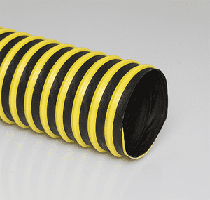 10-CWC-W-25 Flexaust CWC-W (CWCW) 10 inch Dust and Material Handling Hose - 25ft