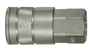 "DC10 Dixon Steel Air Chief Automotive/Industrial Interchange Quick-Connect Coupler (Semi-Automatic Pull Sleeve to Connect) - Female Pipe Thread - 1/2"" Body Size x 1/2"" Female NPT"