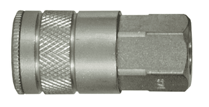 "DC6 Dixon Steel Air Chief Automotive Interchange Quick-Connect Coupler (Semi-Automatic Pull Sleeve to Connect) - Female Pipe Thread - 3/8"" Body Size x 3/8"" Female NPT"