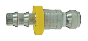 "DCP142L Dixon Steel Air Chief Automotive Interchange Quick-Connect Plug - Push-On Hose Barb - 1/4"" Body Size x 1/4"" Hose ID"