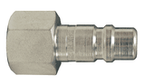 "DCP2021 Dixon Air Chief Steel Industrial Interchange Quick-Connect Plug - Female Pipe Thread - 1/4"" Body Size x 1/8"" Female NPT"