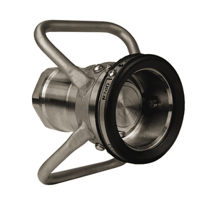 "DDC200SS Dixon 316 Stainless Steel 70mm Dry Disconnect Hose Unit Coupler x 2"" Female NPT with Viton Seals"
