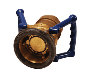 "DDC300GM Dixon Brass/Gunmetal 119mm Dry Disconnect Hose Unit Coupler x 3"" Female NPT with Viton Seals"