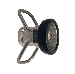 "DDC400AL Dixon Aluminum 164mm Dry Disconnect Hose Unit Coupler x 4"" Female NPT with Viton Seals"
