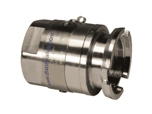 "DDSA075SS Dixon Stainless Steel Dry Disconnect Adapter for Steam Service - 3/4"" Female NPT - 56mm Body Size"