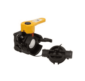 "DM150DE Banjo Polypropylene 1-1/2"" Dry-Mate Dry Disconnect Female w/ EPDM Seals - Opening Thru Ball: 1-1/2"" - 100 PSI"