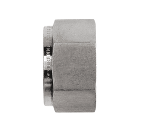 "DN-4 Dixon Instrumentation Fitting - Stainless Steel Nut - 1/4"" Tube OD (Pack of 10)"