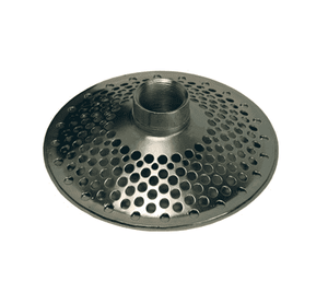 "DST25 Dixon Top Skimmer (Round Hole Type) - 2"" NPSM Size - Zinc Plated Steel"
