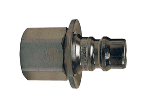 "EA4F4 Dixon 1/2"" Steel Hydraulic Water-Blast Quick Plug - 1/2"" - 14 NPTF Thread"