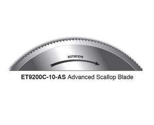 Eaton ET9200C-10-AS Hose Cutting Blade for ET9200 - Advanced Scallop Blade