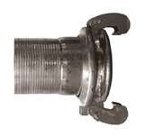 "FC21210ST100 Dixon 10"" Type A (Agri-Lock) Heavy Duty Quick Connect Fitting - Female with Hose Shank and Gasket - Steel"