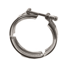 "FC300TB Banjo 3"" 316 Stainless Steel Full Port Hi-Torque T-Bolt Flange Clamp - Torque: 125 in/lbs (Pack of 10)"