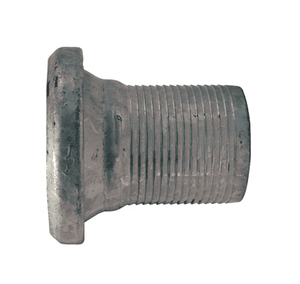 "FC3104ST40 Dixon 4"" Type B (Bauer Style) Heavy Duty Quick Connect Fitting - Female with Machined Steel Hose Shank and Gasket"