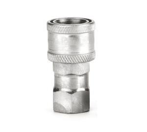 FD48-1001-04-04 Eaton FD48 Series Female Socket - 1/4-18 Female NPT, Valved Parker Bruning SM-250 Interchange Quick Disconnect Coupling - Steel