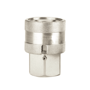 FD69-1011-08-08 Eaton FD69 Series Female Socket - 1/2-14 Female NPT - Buna-N - Water Blast Quick Disconnect Coupling - Stainless Steel