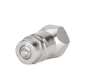 FD76-1002-08-10 Eaton FD72/FD76 Series Male Plug - 1/2-14 Female NPT Farm ISO 5675 Interchange Quick Disconnect Coupling - Buna-N Seal - Steel