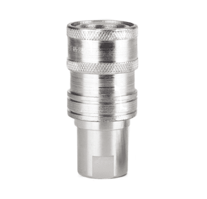 FD72-1001-08-10 Eaton FD72/FD76 Series Female Socket - 1/2-14 Female NPT Farm ISO 5675 Interchange Quick Disconnect Coupling - Buna-N Seal - Steel