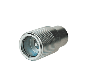 FD85-1001-24-24 Eaton FD85 Series Male Plug Thread to Connect 1 1/2-11 1/2 Female NPTF Quick Disconnect Coupling Steel