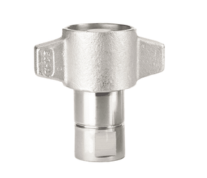 FD86-1001-20-20 Eaton FD86 Series Thread to Connect High Impulse Female Socket 1 1/4-11 1/2 Female NPT Quick Disconnect Coupling Standard Buna-N Seal - Steel