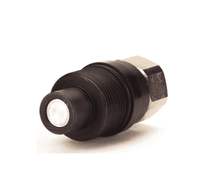 "FD96-1002-20-24 Eaton FD96 Series High Pressure 1 1/4-11 1/2 Female NPT Male Plug (1 1/2"" Body) Quick Disconnect Coupling - Steel"