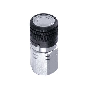 6FFS25 Eaton FF Series Female Socket Female 1/4 18f NPT Quick Disconnect Coupling NBR+AU Steel (FD89-1001-04-04)