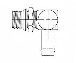 FF1167-1212S SAE O-Ring Boss (adj.) / Hose Connector - Steel