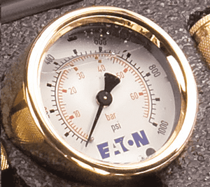FF14800 Eaton Gauge - 1/4 Male NPT - Rating: 0 - 1,000 psi