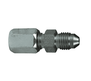 "FLC2402-06-06 Dixon Steel Flareless Bite Fitting - 3/8"" Male Tube x 3/8"" Male 37 deg. JIC"