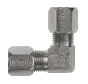 "FLC2500-05 Dixon Steel Flareless Bite Fitting - Male Union 90 deg. Elbow - 5/16"" Tube OD"