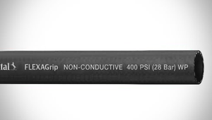 "ContiTech FLEXAGrip™ Push-On Air / Multipurpose Hose - 1.00"" (1"") ID - 300 PSI - Black - 20141684 Goodyear/Continental - 500ft"