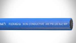 "ContiTech FLEXAGrip™ Push-On Air / Multipurpose Hose - 0.25"" (1/4"") ID - 400 PSI - Blue - 20022719 Goodyear/Continental - 500ft"