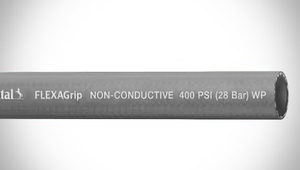 "ContiTech FLEXAGrip™ Push-On Air / Multipurpose Hose - 0.375"" (3/8"") ID - 400 PSI - Gray - 20022739 Goodyear/Continental - 500ft"
