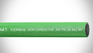 "ContiTech FLEXAGrip™ Push-On Air / Multipurpose Hose - 0.375"" (3/8"") ID - 400 PSI - Green - 20022752 Goodyear/Continental - 500ft"