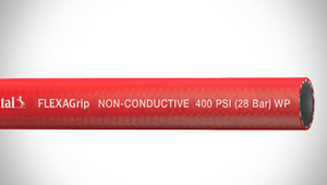 "ContiTech FLEXAGrip™ Push-On Air / Multipurpose Hose - 0.375"" (3/8"") ID - 400 PSI - Red - 20022772 Goodyear/Continental - 500ft"