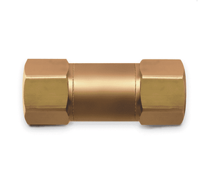 B6FS37F5 Eaton FS Flow Sensor Series Quick Disconnect Coupling - 3/8-18 Female NPTF - Brass