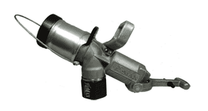 "FX1500SP Dixon 2"" Female NPT Diesel Fuel Nozzle - with Swivel, with Plug"