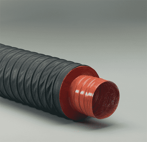 1-Flex-Vest-12 Flexaust Flex-Vest 1 inch Air Duct Hose - 12ft